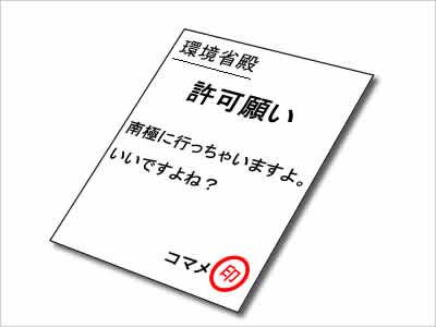 環境省への事前届け出のイメージ画像