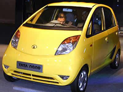 インドのタタ自動車、28万円の格安自動車「ナノ(Nano)」の画像