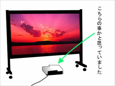 高性能低価格スクリーンのイメージ画像