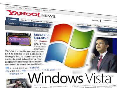 マイクロソフトがヤフーに買収提案のイメージ画像