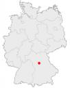 ニュルンベルクの地図