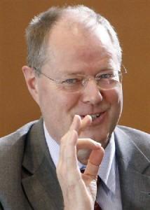 ドイツのシュタインブリュック財務相