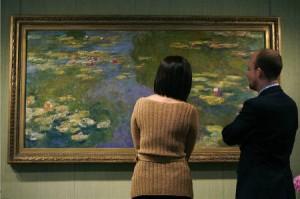 モネの「睡蓮」画、英オークションにて87億円で落札
