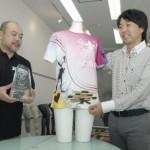 Tシャツ職人グランプリを受賞したTシャツ
