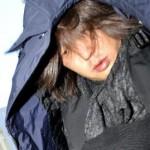 逮捕された岩田敏雄被告=1月17日、東京都豊島区